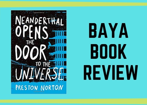 Bay Area Young Adult Book Review Image with Book Cover Image of Neanderthal Opens The Door To The Universe